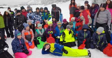Schneespaß der 1.Klassen