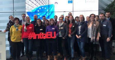 Brüsselbesuch – Hochschullehrgang Europa und Bildung