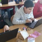 Aris Yunus beim Programmieren